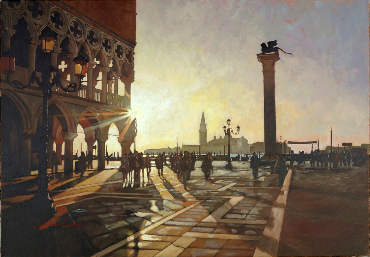 Venice LXX by stephen collett -  sized 39x28 inches. Available from Whitewall Galleries